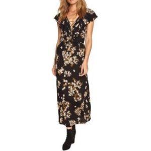 NWT Amuse Society | Blacksand Alana Maxi Dress | M